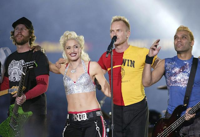 2003: No Doubt, Sting. (Photo by Donald Miralle/Getty Images)