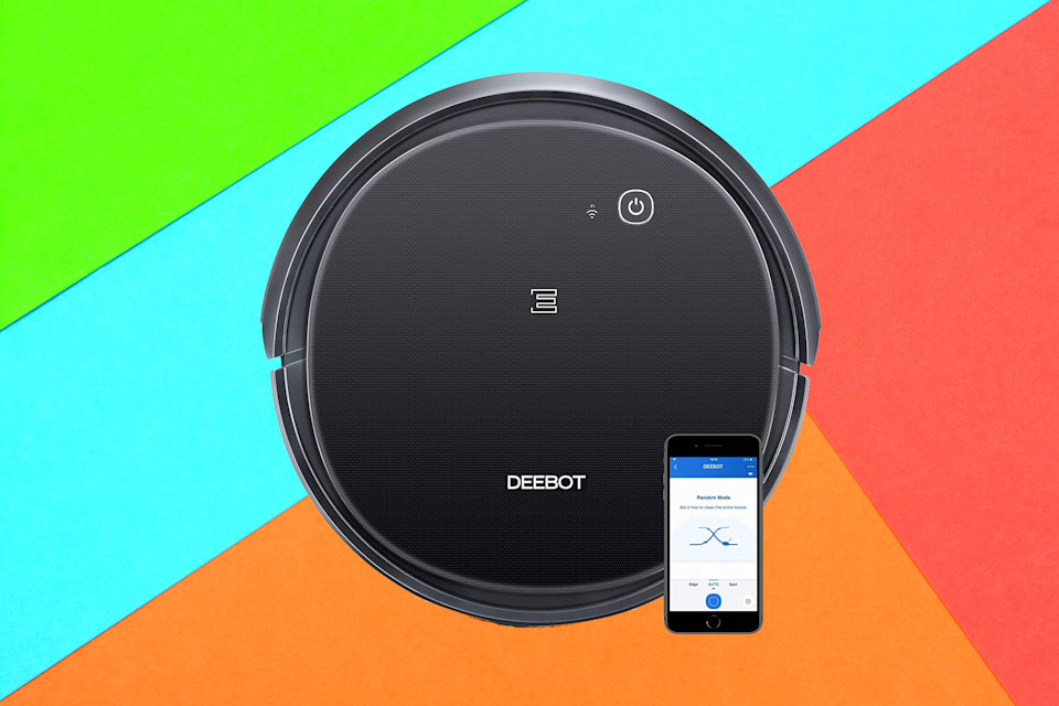 Save nearly 30 percent on this smart robot vacuum. (Photo: Amazon)