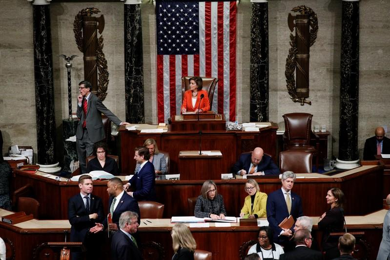 U.S. House of Representatives votes on resolution in impeachment inquiry of U.S. President Trump on Capitol Hill in Washington
