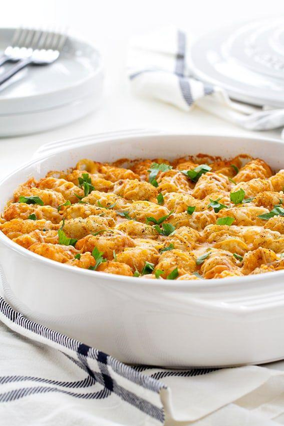 """<p>Tater tots aren't just for breakfast. This casserole recipe turns them into a viable dinner dish—and it's delicious.</p><p><strong>Get the recipe at <a href=""""https://www.mybakingaddiction.com/cheeseburger-tater-tot-casserole/"""" rel=""""nofollow noopener"""" target=""""_blank"""" data-ylk=""""slk:My Baking Addiction"""" class=""""link rapid-noclick-resp"""">My Baking Addiction</a>.</strong> </p><p><a class=""""link rapid-noclick-resp"""" href=""""https://www.amazon.com/OXO-Grips-Freezer-Oven-Baking/dp/B019FHD0FK/?tag=syn-yahoo-20&ascsubtag=%5Bartid%7C10050.g.4772%5Bsrc%7Cyahoo-us"""" rel=""""nofollow noopener"""" target=""""_blank"""" data-ylk=""""slk:SHOP BAKING DISHES"""">SHOP BAKING DISHES</a></p>"""
