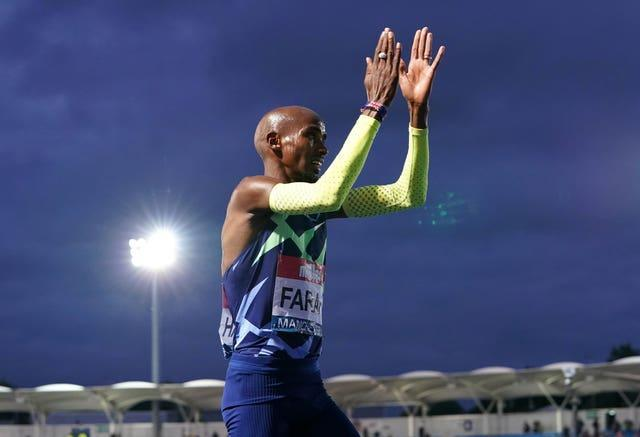 Farah said he would consider his future after failing to make the Tokyo Olympics