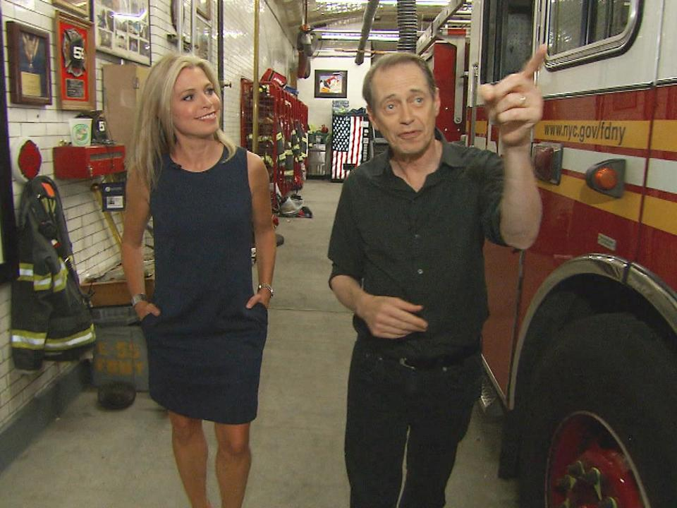 """Steve Buscemi, the star of """"Boardwalk Empire,"""" has produced a new HBO documentary on the lives of NYC firefighters."""