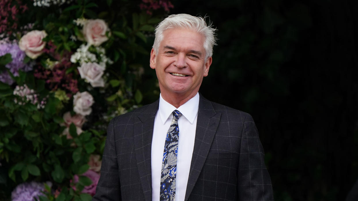 Phillip Schofield has received an LGBT Award after coming out as gay in 2020. (Andrew Matthews/PA Images via Getty Images)
