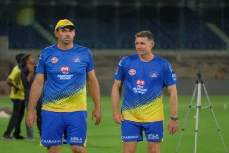 Present coaching staff played under the leadership of MSD