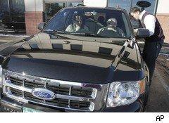 New Ford Escape delivered to customer