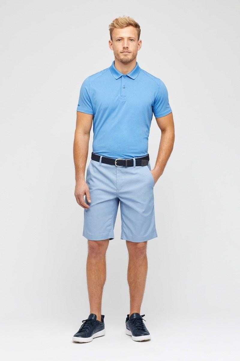 """$68; buy now at <a href=""""https://fave.co/2BpPlbx"""" rel=""""nofollow noopener"""" target=""""_blank"""" data-ylk=""""slk:bonobos.com"""" class=""""link rapid-noclick-resp"""">bonobos.com</a> <p>With multiple fit options (slim and standard, which, in Bonobos, is still slimmer than most brands) and a two-button placket, the Bonobos M-Flex Golf Polo offers a clean and simple way to look good on the course. You'll find a wide range of color options to choose from, too, but we're partial to the Heather Bright Blue. It seems fitting for spring.</p>"""