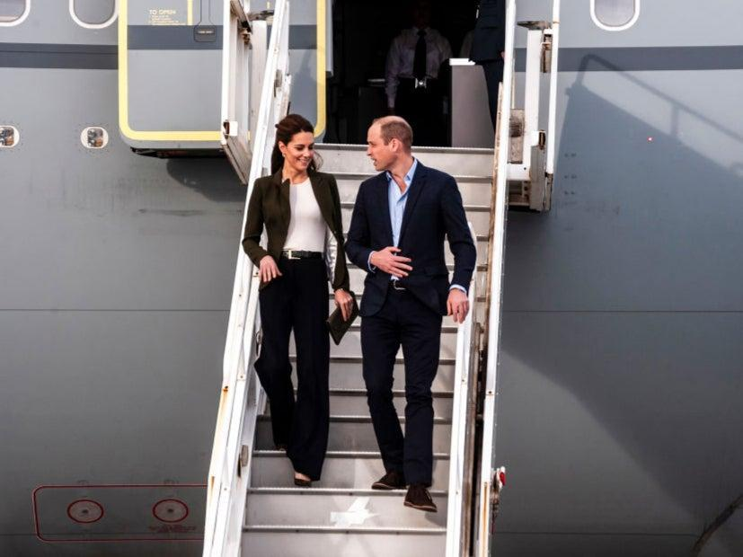 Prince William flew 48,496 air miles (AFP via Getty Images)