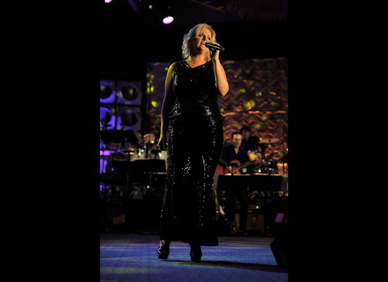 Trisha Yearwood performs onstage at the Songwriters Hall of Fame 42nd Annual Induction and Awards at The New York Marriott Marquis Hotel - Shubert Alley on June 16, 2011 in New York City. (Larry Busacca, Getty Images)