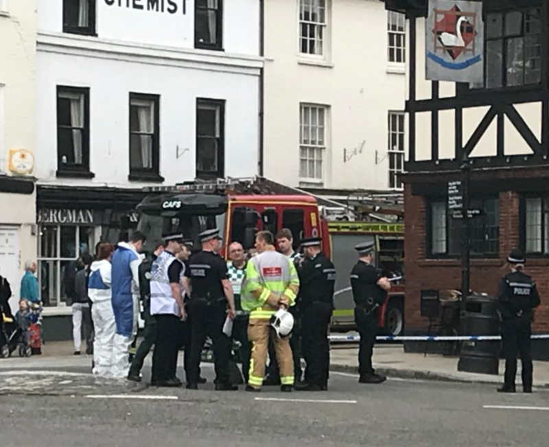 REGIONAL: Evacuation after 'suspicious substance' found in Hampshire town