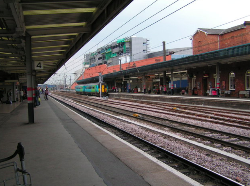Adrian Shann was accused of dropping the discarded cigarette on the platform at Doncaster train station. (Nigel Chadwick/Geograph/Creative Commons)
