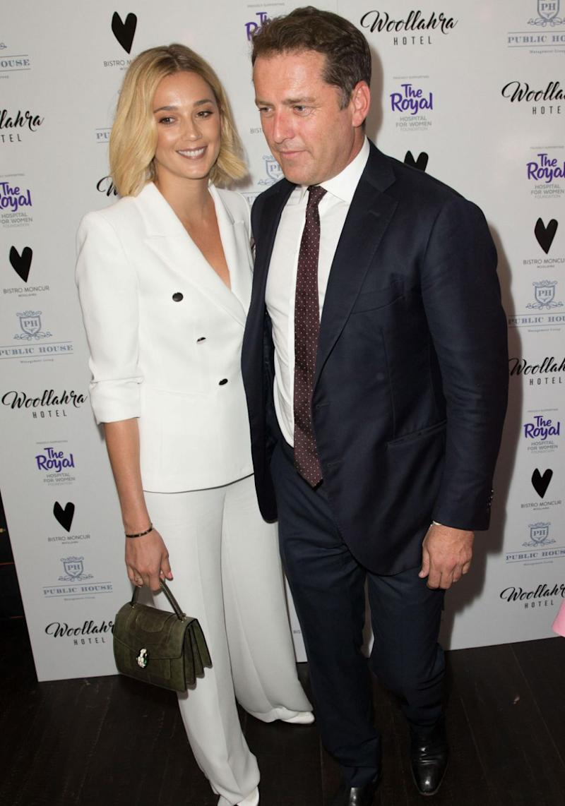 Attending the Bistro Moncur Woollahra Ladies Luncheon together, the pair made their red carpet debut. Source: Media Mode