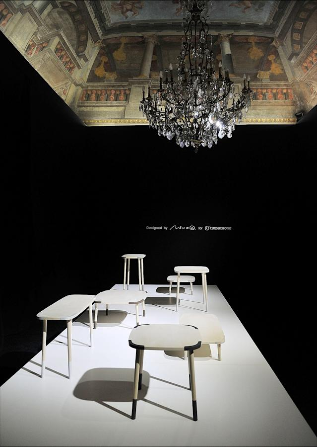 MILAN, ITALY - APRIL 09: Creations by Nendo are displayed at Brera District as part of 2013 Milan Design Week on April 9, 2013 in Milan, Italy. (Photo by Stefania D'Alessandro/Getty Images)