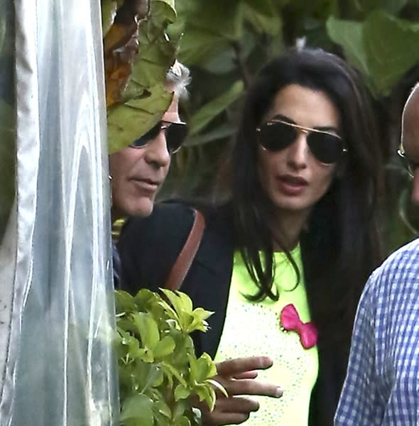 George Clooney to marry Amal Alamuddin at Downton Abbey?