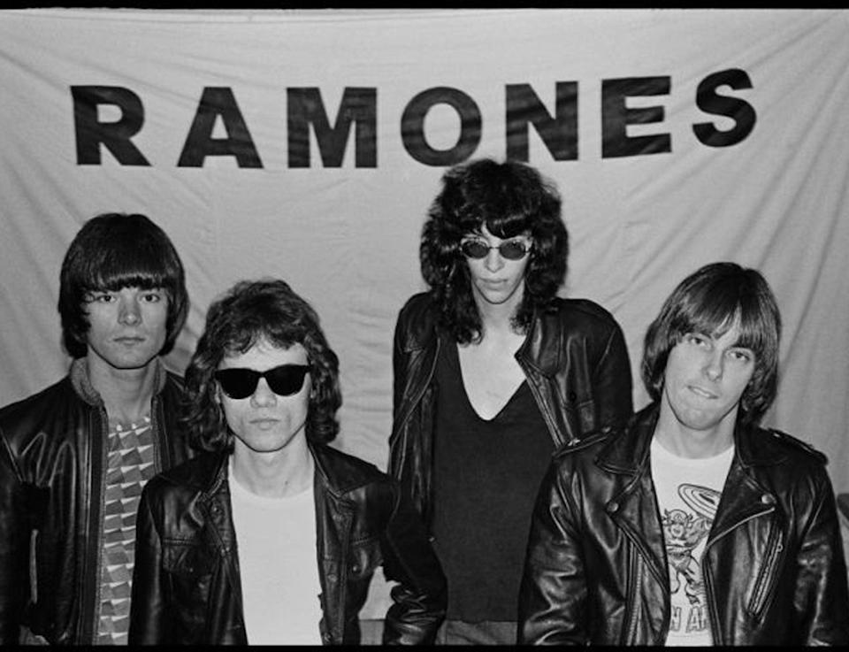 'He's tall' – Joey Ramone (second from right) is the focus of Netflix's forthcoming biopicSTEVE MORGAN/AFP/Getty Images