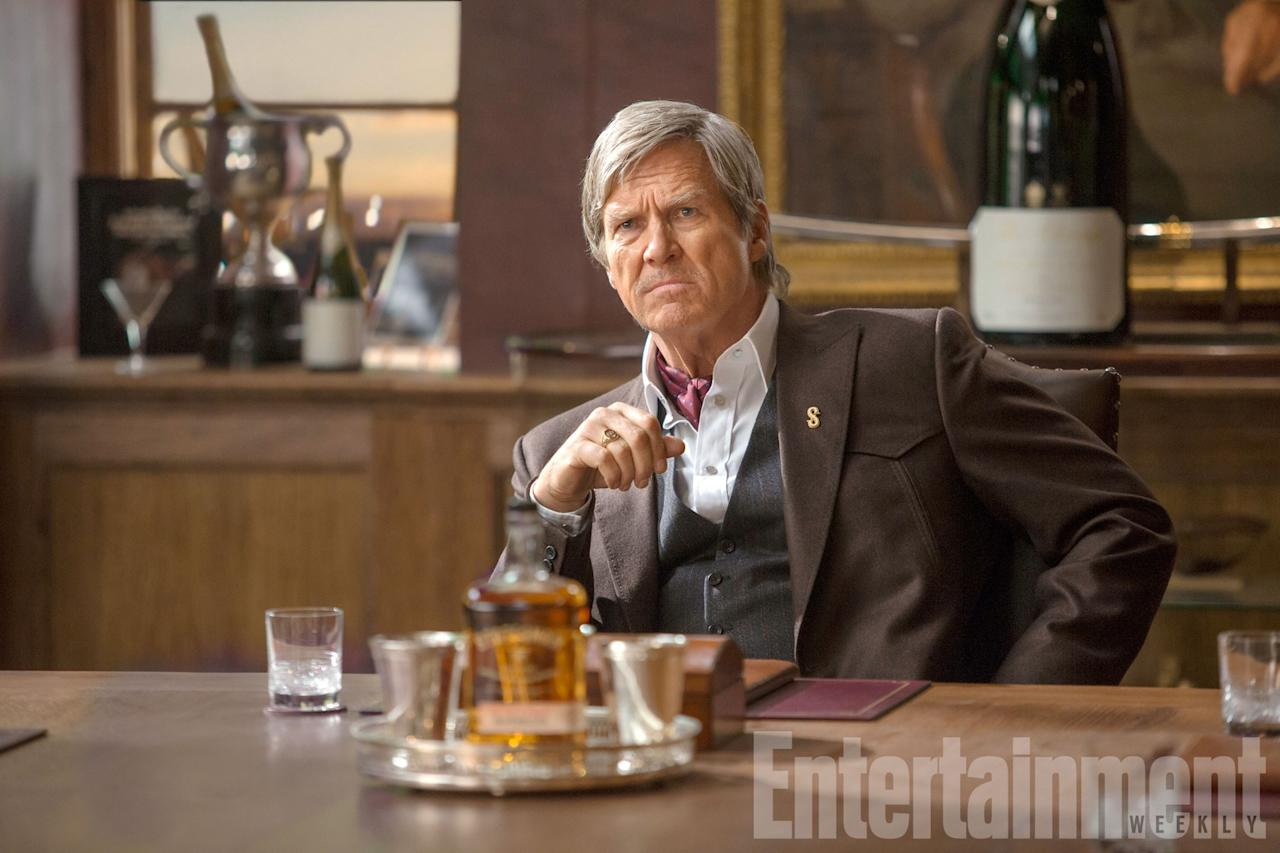 <p>Again, not much has been revealed about Jeff Bridges' character, but it's been reported that he's going to be heading up Statesman – the US equivalent of Kingsman. He certainly looks the part, but will he be an ally to the British agents or a right royal pain in the ass? </p>