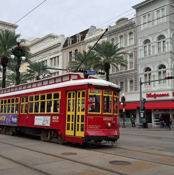 The city is famed for its streetcars, so hop on board. Source: Supplied