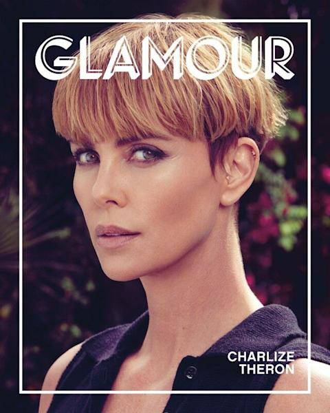 The 'Bombshell' star gets candid for the 'Glamour' Woman of the Year issue.