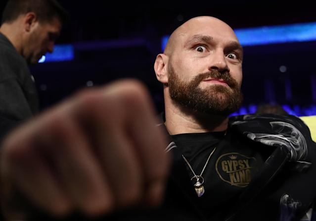 Tyson Fury recently called Santa a 'big dosser' (Credit: Getty Images)