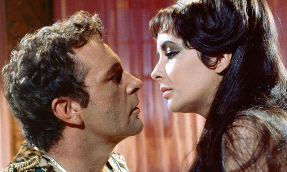 <p>Elizabeth Taylor and Richard Burton hated each other when they first started shooting the Hollywood epic but by the end of the shoot, they had fallen in love. Obviously, this didn't go down well for their spouses Eddie Fisher and Sybil Williams, respectively, who were on the receiving end of divorce papers.<br>Not that Taylor and Burton's marriage lasted. The couple married in 1964 only to divorce in 1974, then marry again in 1975 but divorce again the following year. </p>