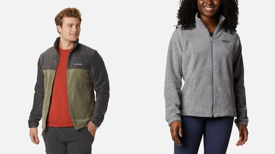 Fleece is a great lightweight option for a mid layer.