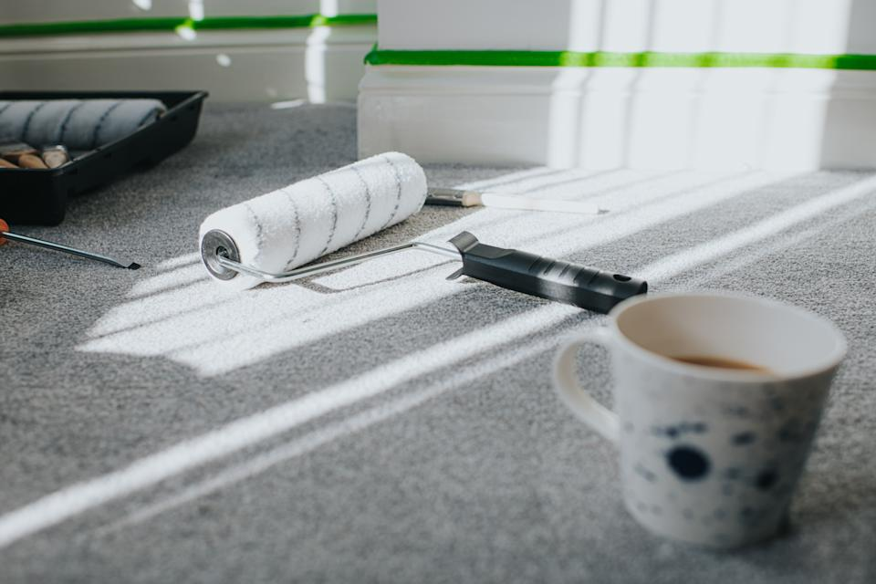 Carpet spillages are a real decorating risk. (Getty Images)