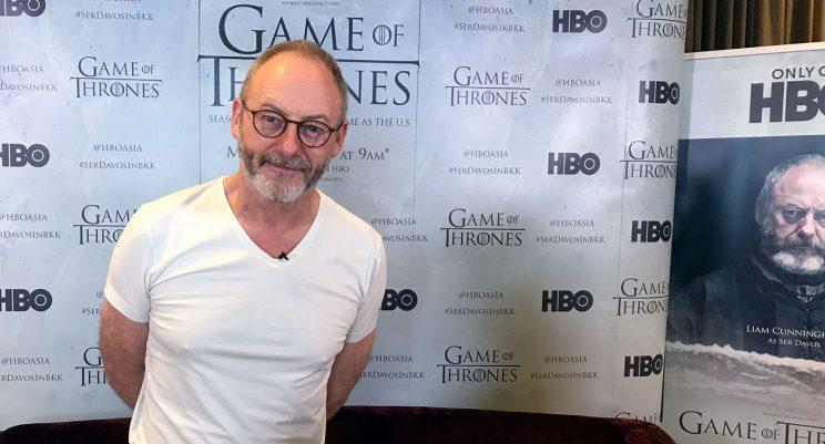 Liam Cunningham, who plays Ser Davos on HBO's Game of Thrones, in Bangkok. (Photo: Yahoo Lifestyle Singapore)
