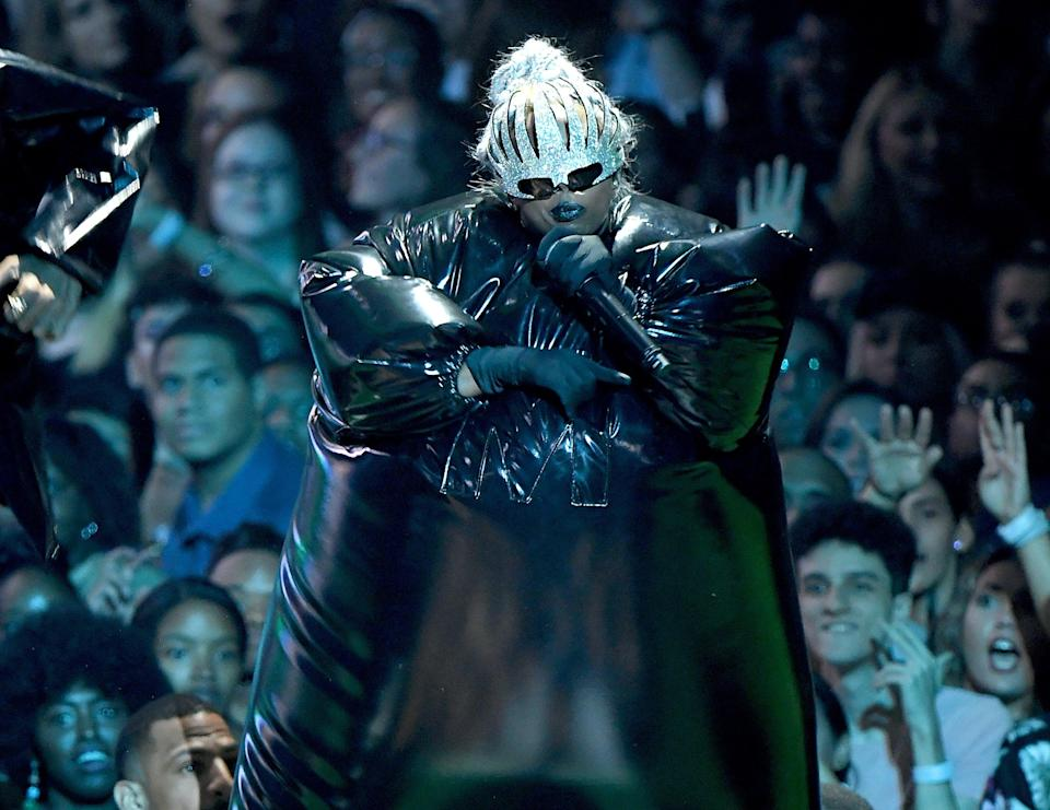 Missy Elliott performs onstage during the 2019 MTV Video Music Awards at Prudential Center on August 26, 2019 in Newark, New Jersey.