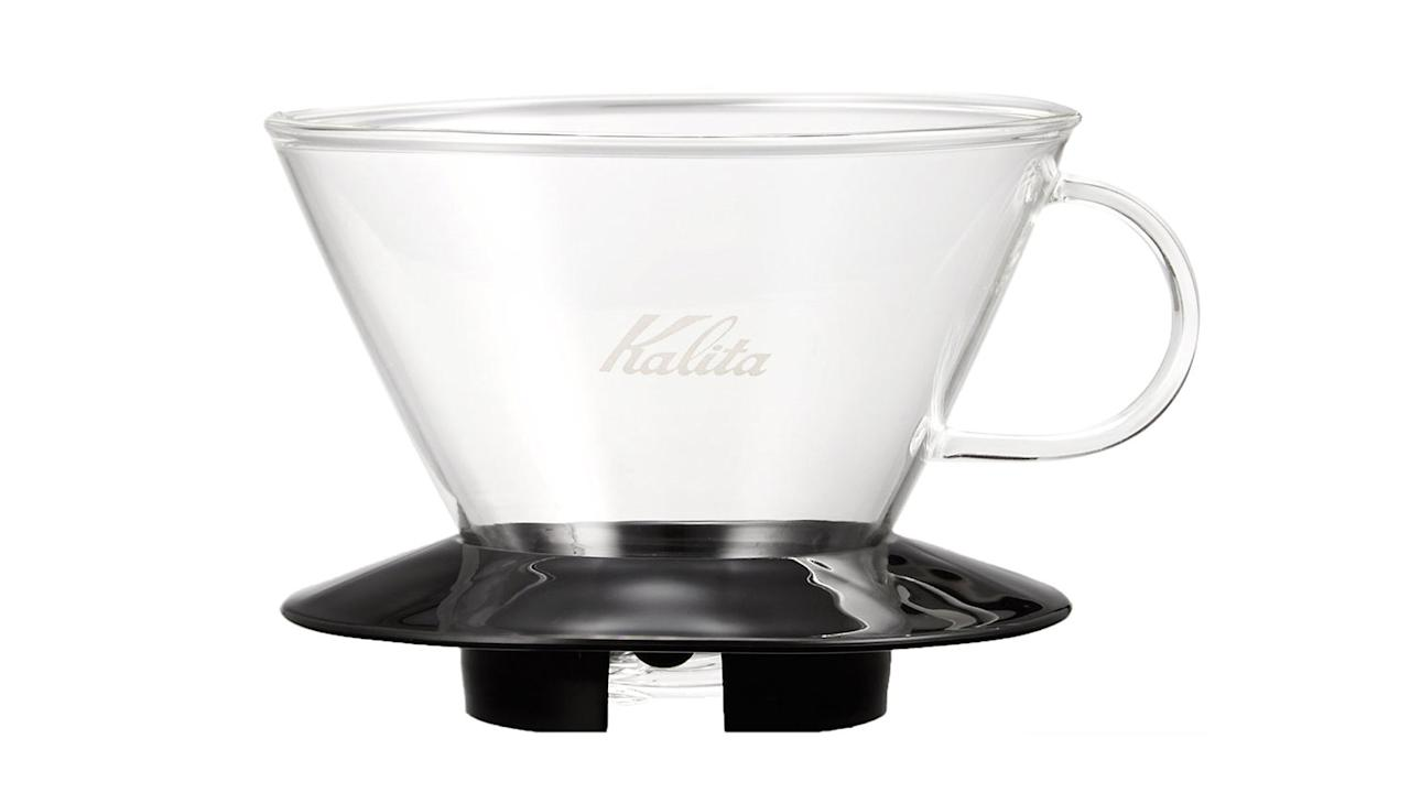 "<p>""I brew with the Kalita Wave dripper, which produces amazing coffee. Filters are easily available on Amazon, but pay attention if the item you're buying isn't marked Prime. I once ordered from a seller who turned out be in <a rel=""nofollow"" href=""http://www.foodandwine.com/blogs/how-japan-nails-coffee"">Japan</a>, and the filters took two months to arrive."" [<a rel=""nofollow"" href=""https://www.amazon.com/gp/product/B004W5KPSQ/ref=as_li_qf_sp_asin_il_tl?ie=UTF8&tag=foodandwine2017-20&camp=1789&creative=9325&linkCode=as2&creativeASIN=B004W5KPSQ&linkId=2a747a5e684ca63446ace90e8f40b8db"">Kalita Wave Dripper</a>, $21]</p>"