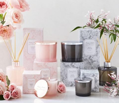 POTTERY BARN INTRODUCES HOME FRAGRANCE COLLECTION WITH BRIDAL AND FASHION DESIGNER MONIQUE LHUILLIER
