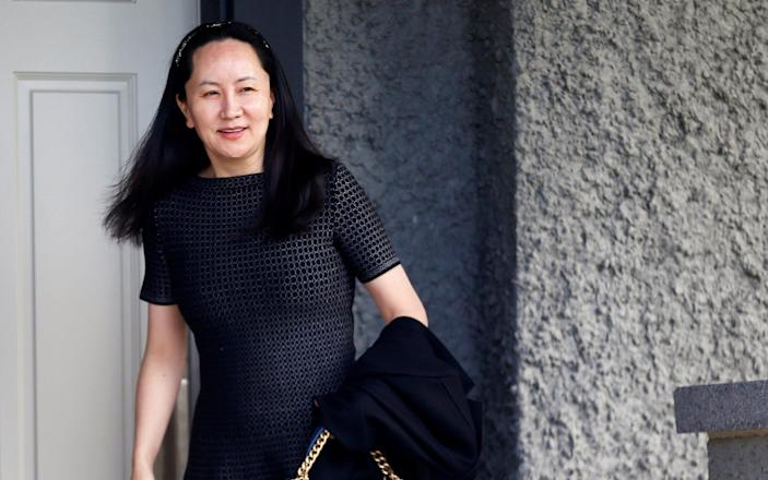 The US alleges Ms Meng helped Huawei circumvent sanctions on Iran - REUTERS
