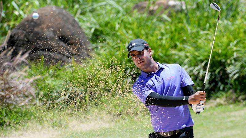 India's Shubhankar Sharma leads suspended Joburg Open