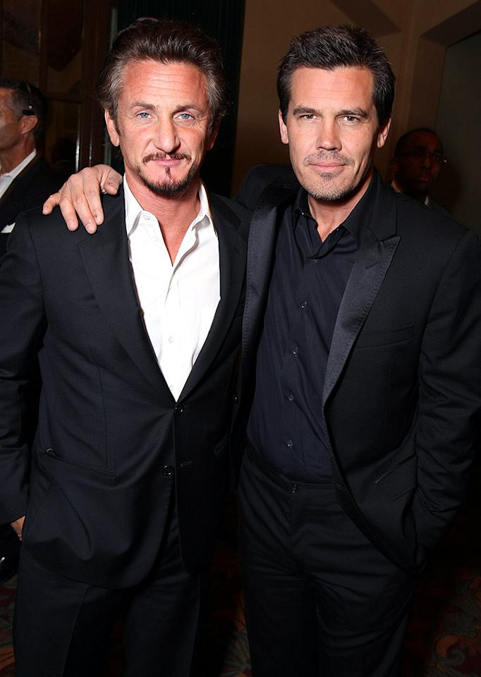 """""""Milk"""" costars Sean Penn and Josh Brolin are another set of best friends who have shared the big screen. Eric Charbonneau/<a href=""""http://www.wireimage.com"""" target=""""new"""">WireImage.com</a> - October 28, 2008"""