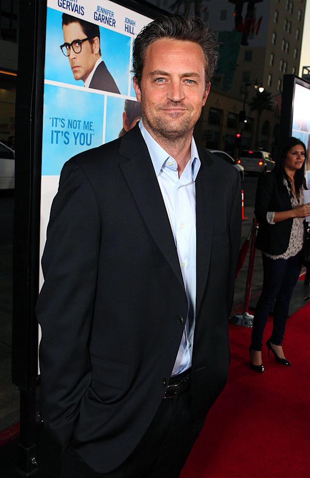 """In the mid-'80s, former """"Friend"""" Matthew Perry moved from Ottawa to Los Angeles in order to pursue a career in film and television. Eric Charbonneau/<a href=""""http://www.wireimage.com"""" target=""""new"""">WireImage.com</a> - September 21, 2009"""