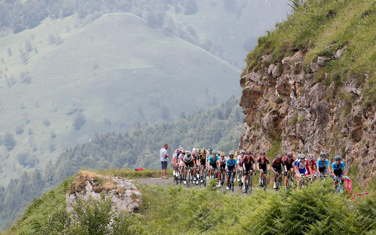 Sunday will see the final day of racing in the Pyrenees - REX