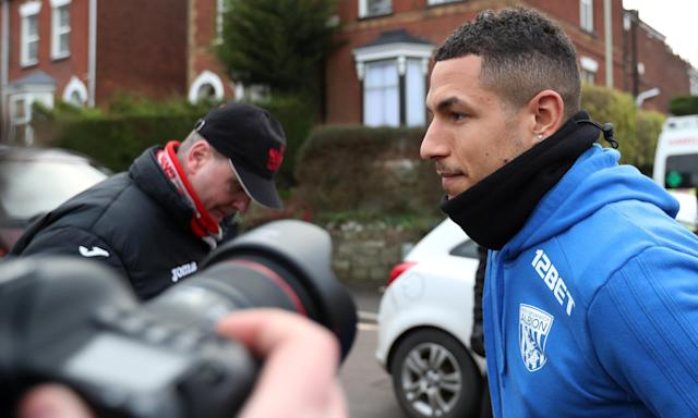 Jake Livermore, arriving here at Exeter City for West Brom's FA Cup tie, will not be punished for going into the crowd at West Ham.