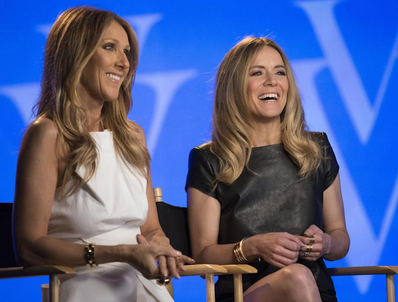 Celine Dion helps launch Canadian artist on Strip