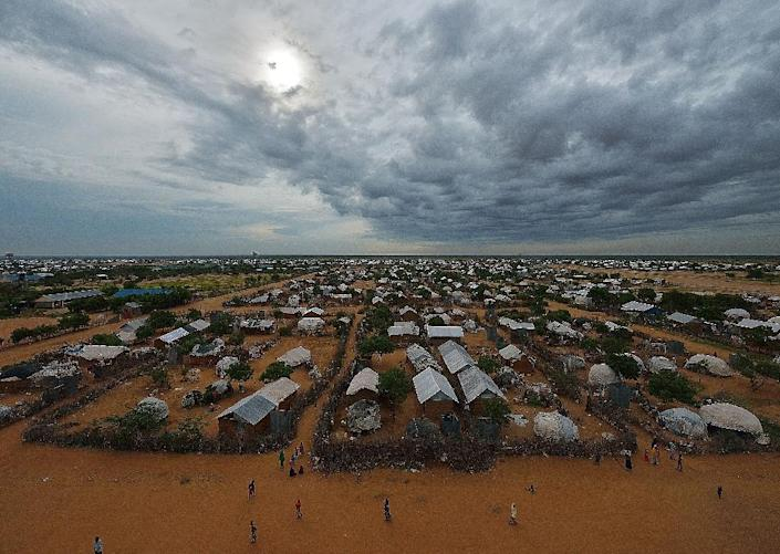 Part of the eastern sector of the IFO-2 camp in the sprawling Dadaab refugee camp (AFP Photo/Tony Karumba)