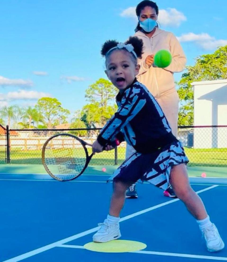 Serena Williams' daughter Alexis