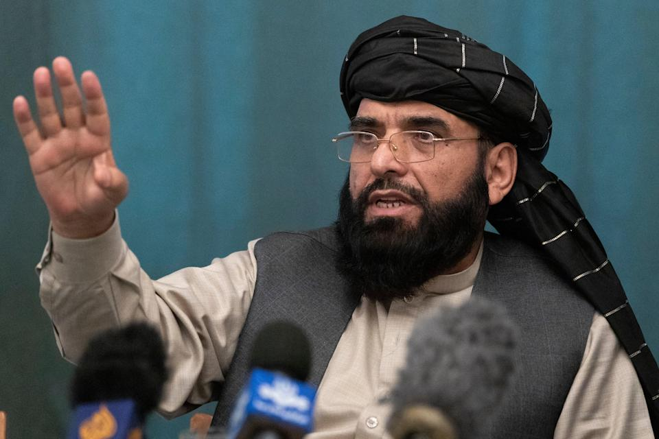 Afghanistan Taliban (Copyright 2021 The Associated Press. All rights reserved)