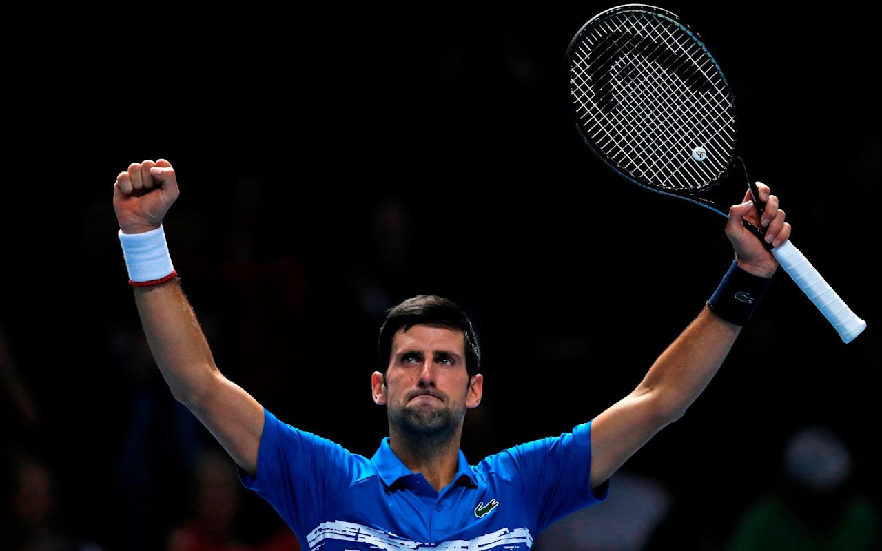 Novak Djokovic made easy work of Matteo Berrettini in London on Sunday - AFP or licensors