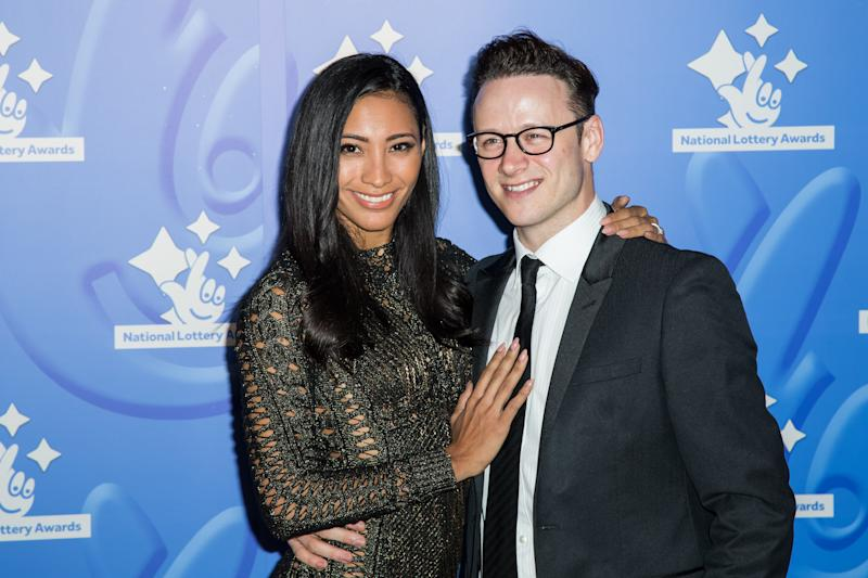 Karen Clifton and Kevin Clifton pose for photographers upon arrival at the National Lottery Stars 2015 event in London, Friday, Sept. 11, 2015. (Photo by Vianney Le Caer/Invision/AP)
