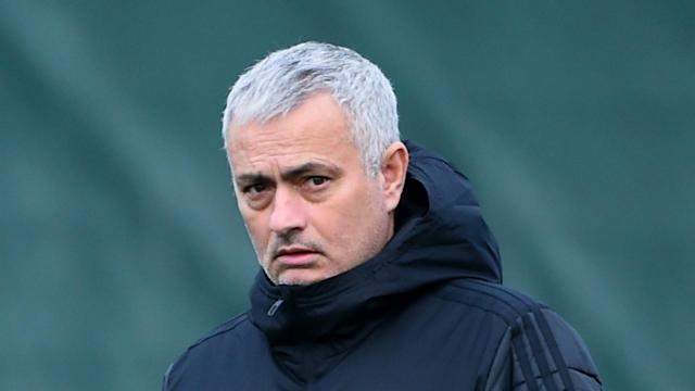 Jose Mourinho discussed Manchester United's recent struggles, while refusing to comment on whether he could be the next Lyon coach.