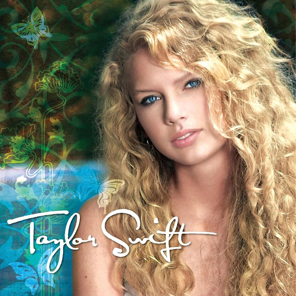 """<p><span>Taylor Swift</span> packed up her bags and moved to Nashville, Tennessee at the tender age of 14 to pursue her love for country music. Two years later, she <span>released her debut album, <em>Taylor Swift</em></span>, which peaked at No. 5 on the Billboard 200 Chart. All five singles released from the album, including """"Our Song"""" and """"Teardrops on My Guitar,"""" were certified platinum by the RIAA.</p>"""