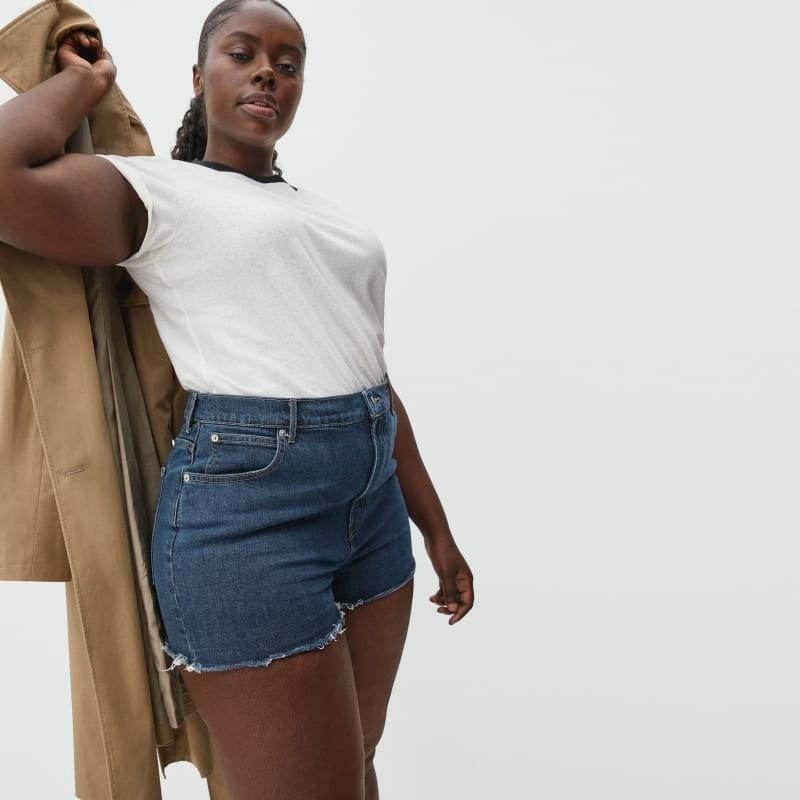 """<br><br><strong>Everlane</strong> The Way-High Jean Short, $, available at <a href=""""https://go.skimresources.com/?id=30283X879131&url=https%3A%2F%2Fwww.everlane.com%2Fproducts%2Fwomens-way-high-denim-short-washed-midnight"""" rel=""""nofollow noopener"""" target=""""_blank"""" data-ylk=""""slk:Everlane"""" class=""""link rapid-noclick-resp"""">Everlane</a>"""