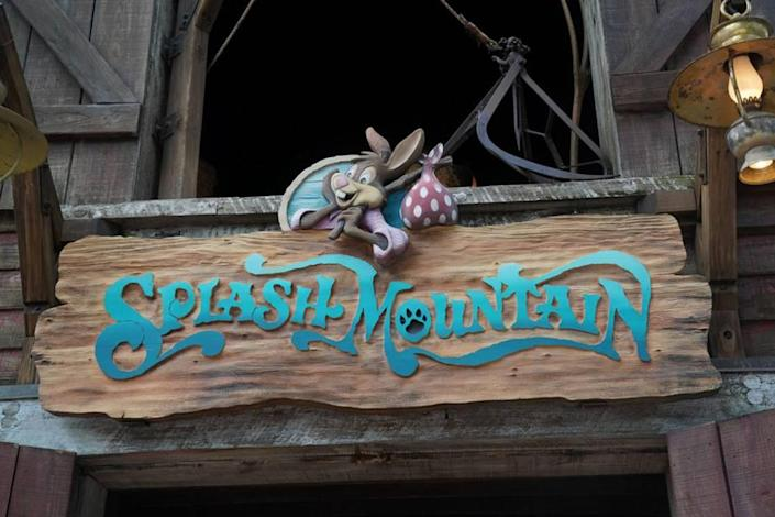 """The popular Splash Mountain ride at Disney World and Disneyland is based on the controversial 1946 film """"Song of the South"""" — a movie long accused of peddling racist tropes about the post-Civil War South. Its new theme will draw from the movie """"The Princess and the Frog."""""""