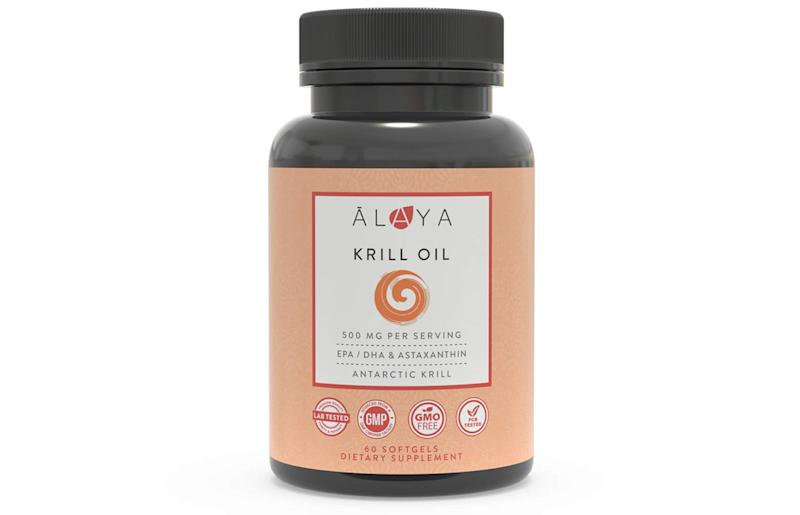 Alaya Naturals - Antarctic Krill Oil (Photo: Amazon)