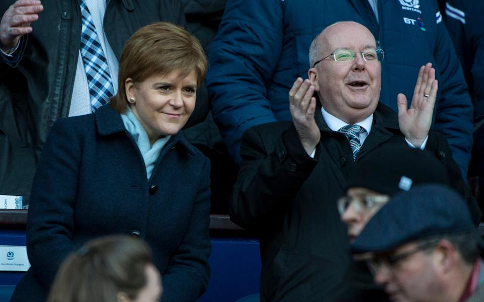 Nicola Sturgeon and Peter Murrell - MB Media/Getty Images Europe