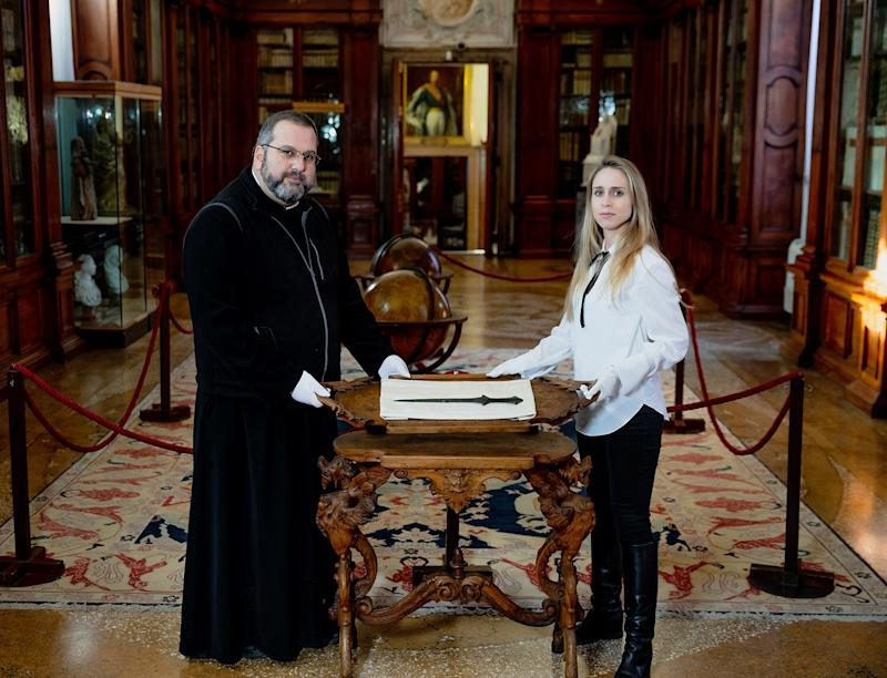 Archaeology Student Realizes Mislabeled Sword in Italian Monastery Is Actually 5,000 Years Old