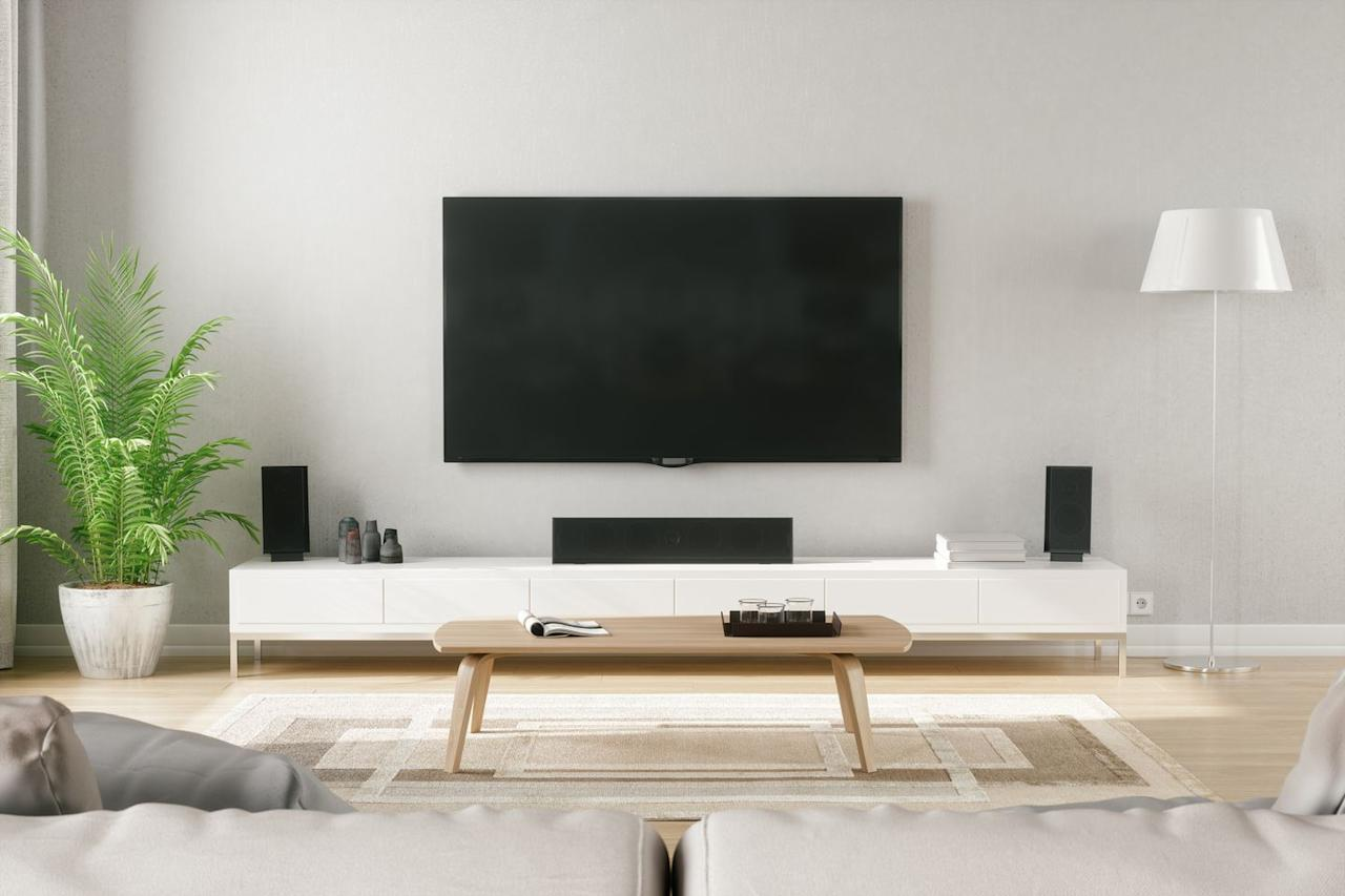 "<p>Flat-screen <a href=""http://mf1.bestbuy.selectionassistant.com/tv-safety"" target=""_blank"">televisions </a>are easy for anyone to tip over—especially small children. By securing it to the wall, you can avoid being one of the thousands of television-related trips to the emergency room that happen each year.</p>"