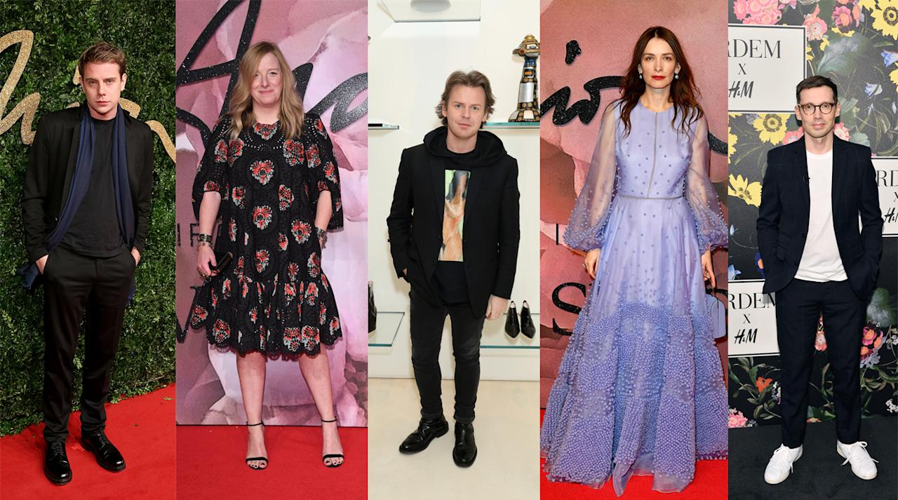 <p>British designers continue to impress in the womenswear market. Whether it's Christopher Kane (and his Crocs), Erdem's floral-heavy looks or Roksanda's famous block colours, there's something that will impress any woman. Not forgetting the exquisite work of Sarah Burton and Jonathan Anderson, of course.<br /><i>From left to right: Jonathan Anderson for J.W. Anderson, Sarah Burton for Alexander McQueen, Christopher Kane, Roksanda Ilincic for Roksanda, Erdem Moralioglu for Erdem.</i><br /><i>[Photo: Getty]</i> </p>